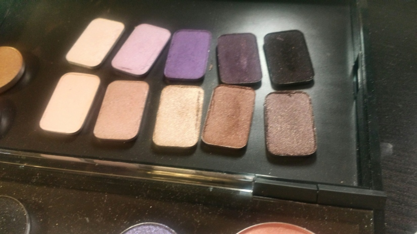 """Voila! Stila's """"In the Moment"""" palette resting safely in my MAC Pro."""