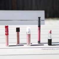 Lipstick Arsenal: Favorite Pinks & Nudes